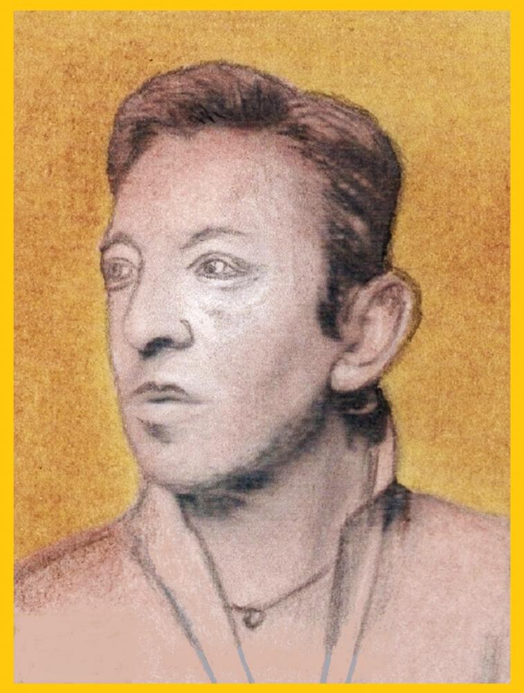 Serge Gainsbourg by Vuilletjossjoss